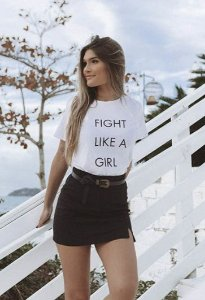 T-shirt Fight Like a Girl