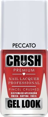 ESMALTE CRUSH - PECCATO 9ml - CREMOSO