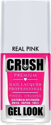 ESMALTE CRUSH - REAL PINK 9ml - CREMOSO