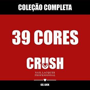 Coleção Completa CRUSH - 39 Esmaltes