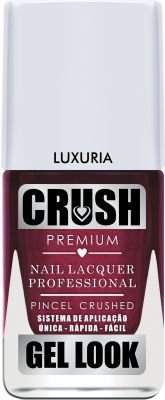 ESMALTE CRUSH - LUXURIA 9ml - CINTILANTE