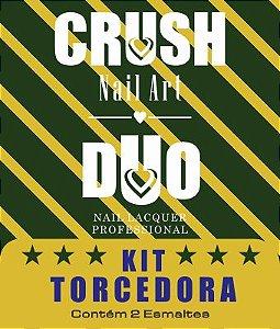 DUO CRUSH NAIL ART KIT TORCEDORA - 2 ESMALTES 9ml