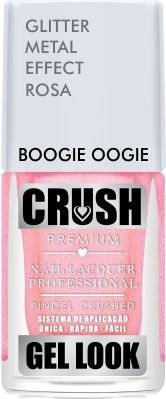 ESMALTE CRUSH - BOOGIE OOGIE 9ml - GLITTER METAL
