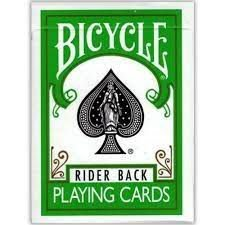 Bicycle Rider Back Verde