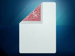 Carta Face Branca e Dorso Azul ou Vermelha