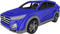 Hyundai Tucson - Puzzles 3D