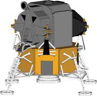 Modulo Lunar - puzzles 3D