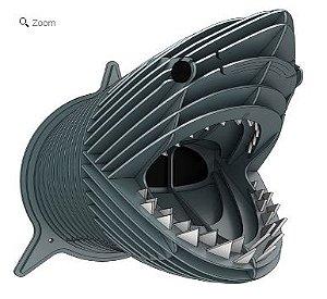 Cabeça de Tubarão - puzzles 3D