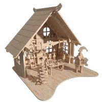 Casa do Papai Noel Puzzles
