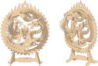 Dragão e Phoenix