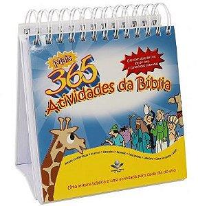 MAIS 365 ATIVIDADES DA BÍBLIA (CALENDÁRIO)