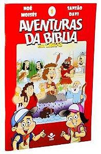 SÉRIE DVD – AVENTURAS DA BÍBLIA EM LIBRAS VOL. 1