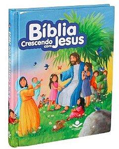 BÍBLIA CRESCENDO COM JESUS - Edição Econômica