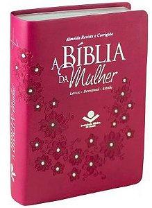 A BÍBLIA DA MULHER - Pink (Revista e Corrigida)