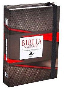 BÍBLIA SAGRADA FONTE DE BÊNÇÃOS COM CADERNO PARA ANOTAÇÕES