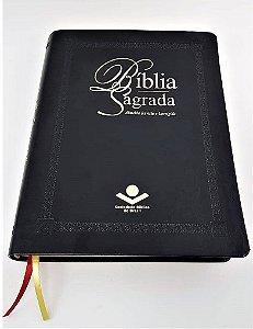 Bíblia Letra Extragigante - Revista e Corrigida - com índice