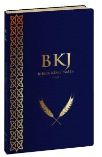 Bíblia King James Fiel 1611 (Ultrafina - Azul)