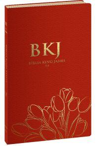 Bíblia King James Fiel 1611 (Ultrafina - Vermelha)