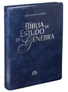 BÍBLIA DE ESTUDO GENEBRA - AZUL