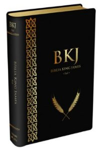 Bíblia King James Fiel 1611 - Luxo Preta