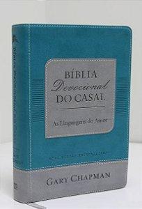 Bíblia devocional do casal (verde)