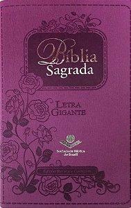 BÍBLIA SAGRADA ICM - LETRA GIGANTE - Capa Lilás