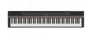 Piano Digital Compacto c/ Fonte P125B Preto YAMAHA