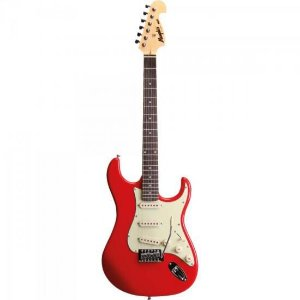 Guitarra Strato 3S MG32 Fiesta Red MEMPHIS by TAGIMA
