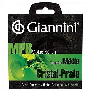 Encordoamento Para Violão GENWS Série MPB Nylon Médio GIANNINI