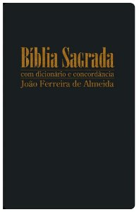 Bíblia Sagrada RC Gigante com Dicionário e Concordância - Capa Luxo Preta