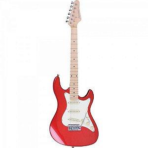 Guitarra Strato STS-100 vermelho STRINBERG