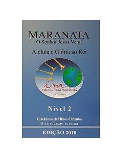 COLETÂNEA CIFRADA 2018 - NÍVEL 2 (caixa com 30 unidades)