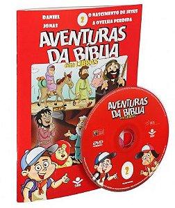 SÉRIE DVD – AVENTURAS DA BÍBLIA EM LIBRAS VOL. 2
