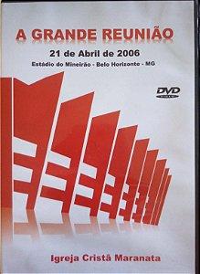DVD - A GRANDE REUNIÃO