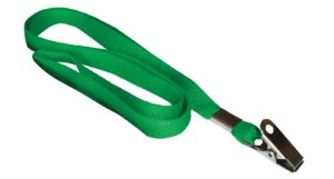 Cordão para Crachá - Verde (10 unidades)