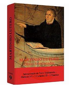 Martinho Lutero - Obras Selecionadas v. 9