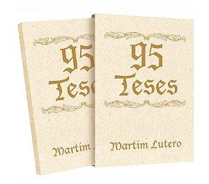 95 TESES - Edição comemorativa 500 anos da Reforma com Box