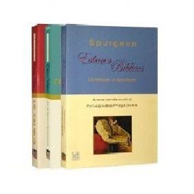 Kit Spurgeon - Esboços Bíblicos de Gênesis a Apocalipse e Salmos (03 UN)