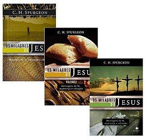 Kit Spurgeon - Os milagres de Jesus