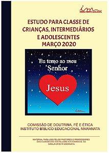 ESTUDOS PARA CLASSES DE CIAS - MARÇO 2020