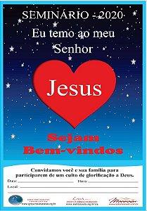 Cartaz para Evangelização de CIAs - Março 2020 - 05 Unidades