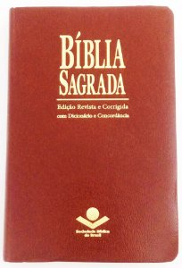 BÍBLIA ICM COM ESPAÇO PARA ANOTAÇÕES - MARROM