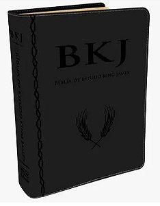 Bíblia de Estudo King James 1611 (Luxo Preta)