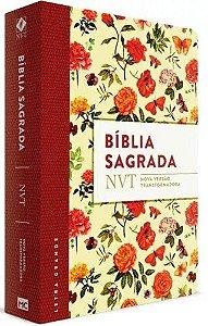 Bíblia Sagrada Feminina Letra Grande Nvt Capa Flexível