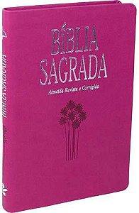 Bíblia Sagrada - Ultra Fina Slin - ROSA CHOQUE