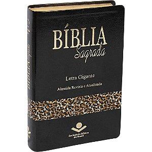 Bíblia Sagrada – Letra Gigante ARA – Capa Animal Luxo
