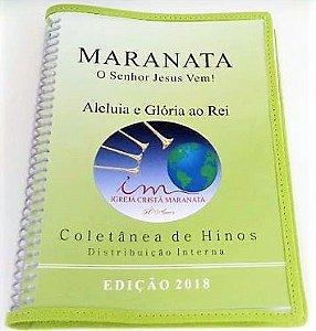Capa Plástica para Coletânea de Louvores