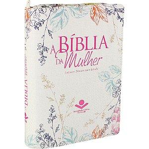 A BÍBLIA DA MULHER - COM ZÍPER