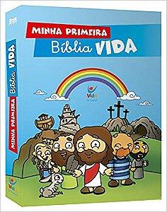 MINHA PRIMEIRA BÍBLIA VIDA - CAPA DURA