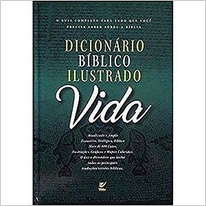 DICIONÁRIO BÍBLICO ILUSTRADO VIDA - CAPA DURA
